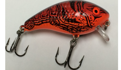 1/4 oz Baby 1- Minus Red Craw