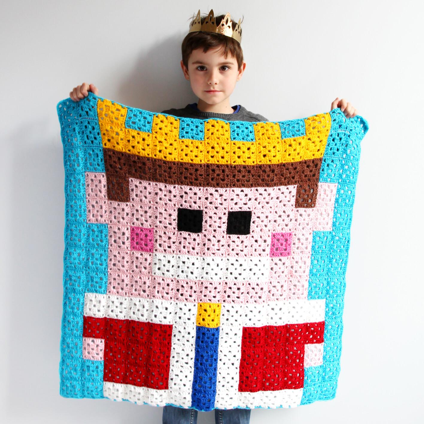 Pixelplaid King
