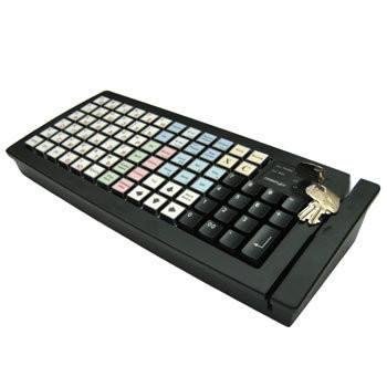 Программируемая клавиатура Posiflex KB-6600B черная Б/У
