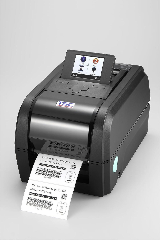 """TSC TX-200 Desktop 4"""" Thermal Transfer Printer 200dpi"""