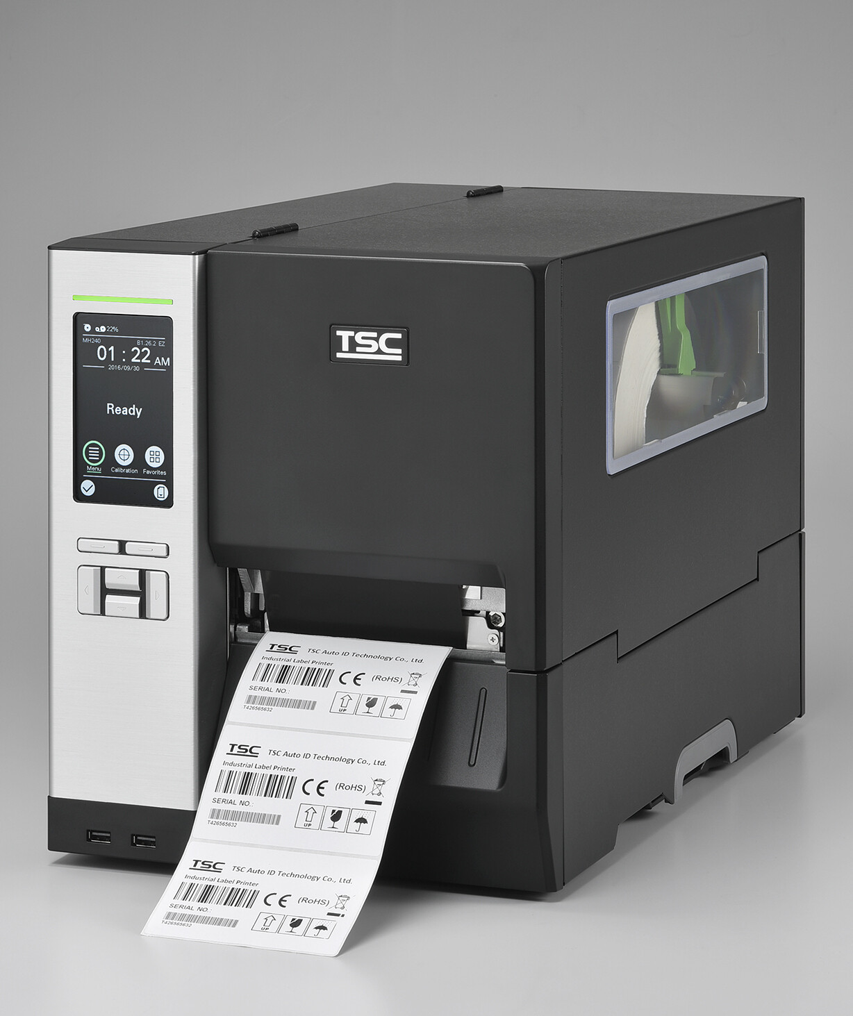 "TSC MH640-T Industrial 4"" Thermal Transfer Barcode Printer 600dpi"