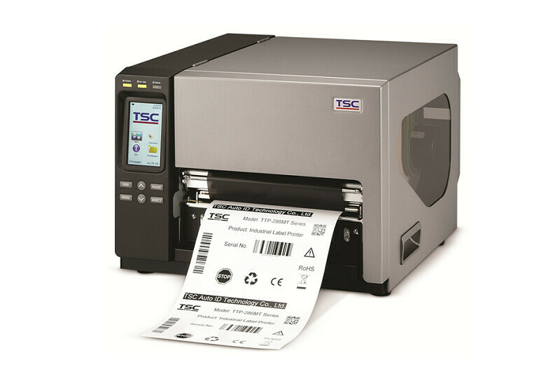 "TSC TTP-384MT Industrial 8.6"" Thermal Transfer Barcode Printer 300dpi"