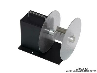 Outer Flange for MC-10A Mini-CAT Label Rewinder