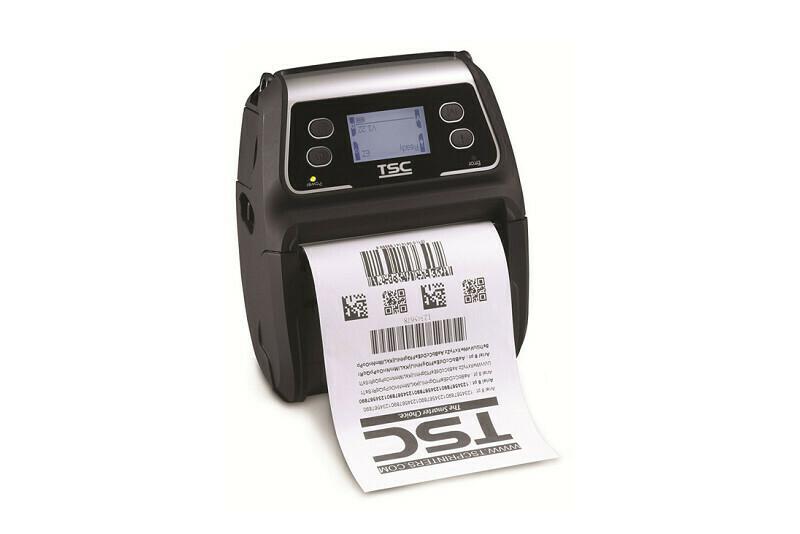 "TSC ALPHA-4 4.09"" Mobile Receipt Printer 203dpi (Wifi)"