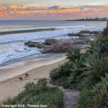 Photo Print - Looking South Cliff Parade Thirroul 00023