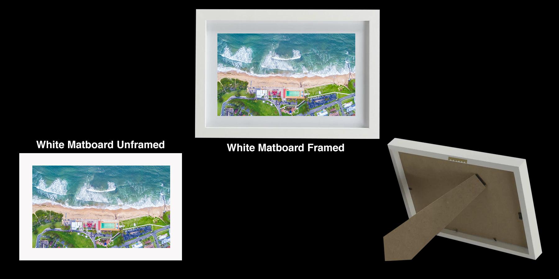 Photo Print - Bird's eye view Thirroul Beach