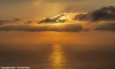 Photo Print - Golden Sunrise Thirroul Beach 00016