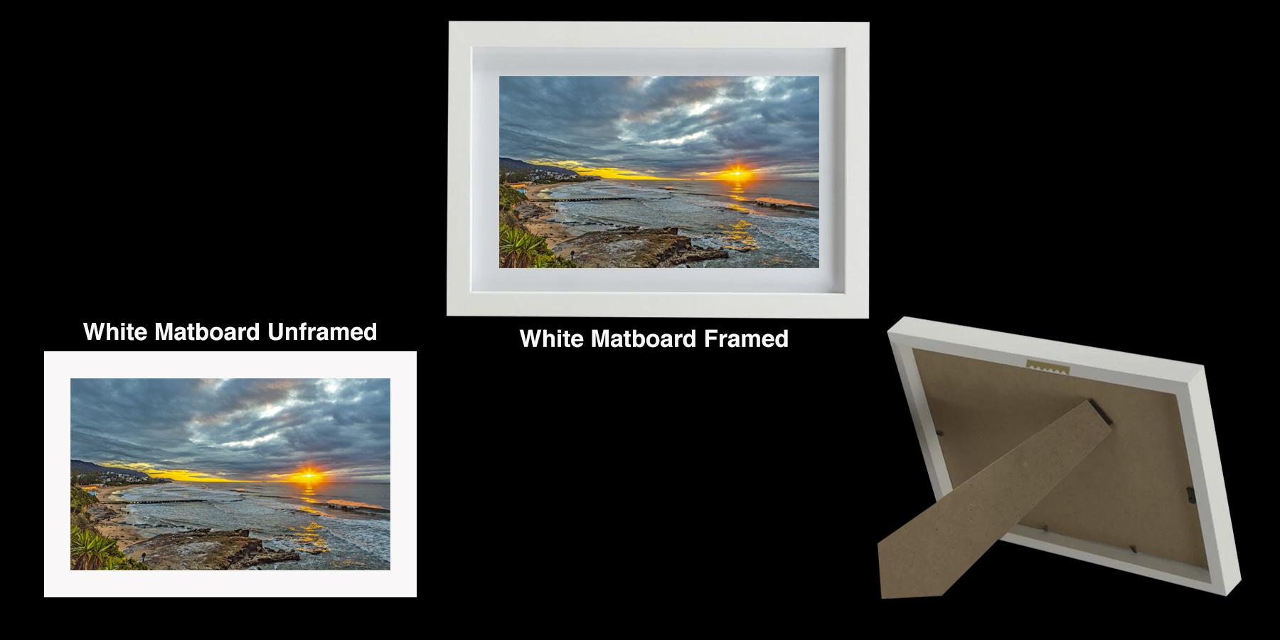 Photo Print - Moody Sunrise Thirroul Beach