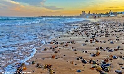 Photo Print - Pebbles Thirroul Beach 00029