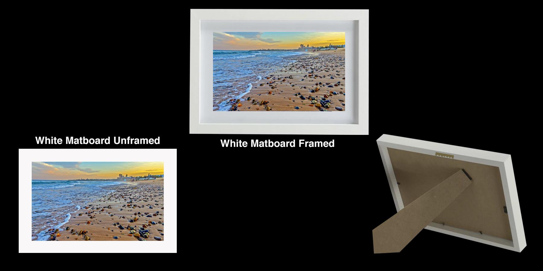 Photo Print - Pebbles Thirroul Beach