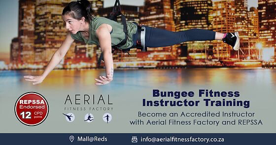 Accredited Online Bungee Fitness Instructor Course