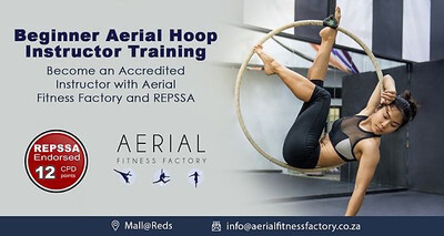 Accredited Online Beginner Aerial Hoop Instructor Course