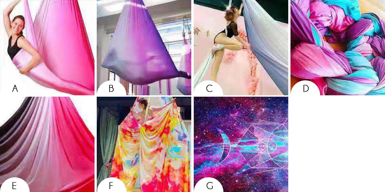 Ombré Aerial Silks/Aerial Hammock Fabric Only