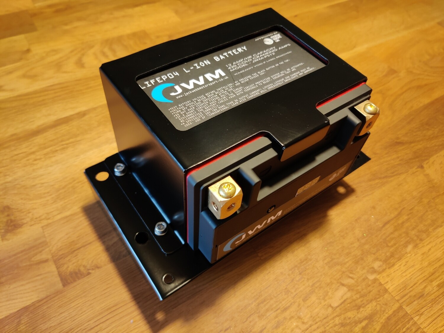 JWM PS-12 and charger including 2012 on SIGMA/DURATEC central battery fitting kit.