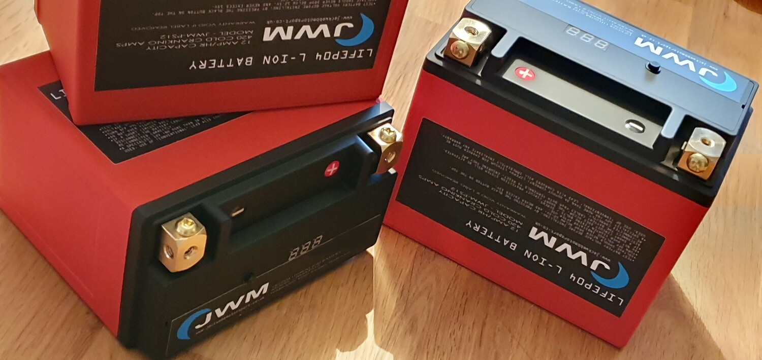 JWM PS-12 LiFePO4 LIGHTWEIGHT LITHIUM BATTERY