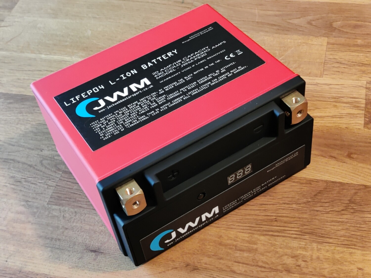 JWM PS-20 LiFePO4 LIGHTWEIGHT LITHIUM BATTERY