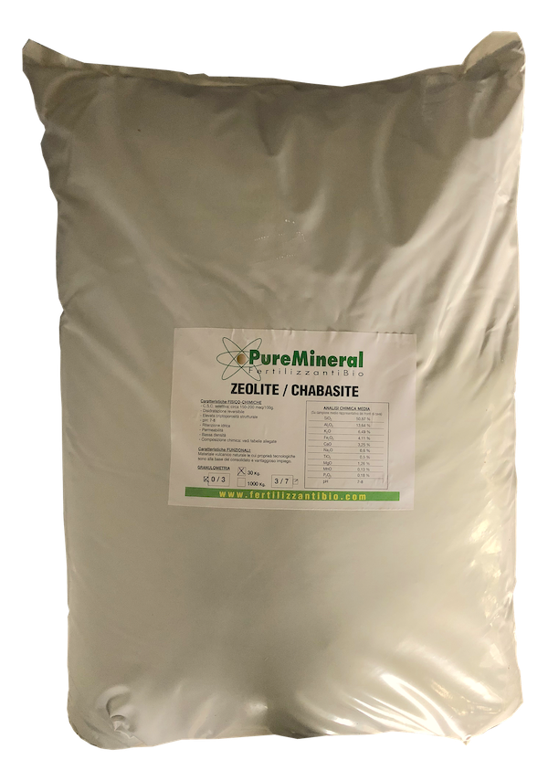 ZEOLITE - Cabasite Agricola 30 Kg