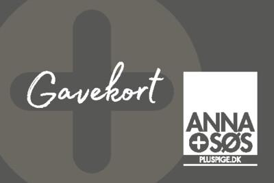 Gavekort - Vælg beløbstørrelse under købet -