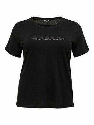 Trænings t-shirt i bomuld fra OnlyPlay Curvy