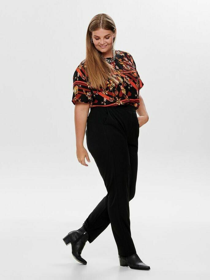 Klassiske sorte bukser fra Carmakoma!