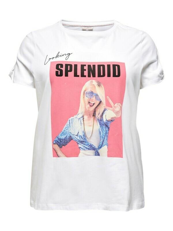 Smart t-shirt fra Carmakoma.