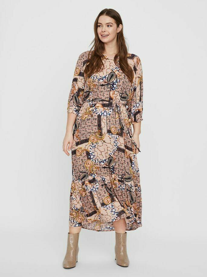Printet maxi-kjole fra Junarose