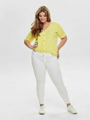 Hvide jeans fra Carmakoma!
