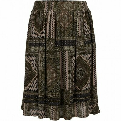 Printet nederdel fra Zoey