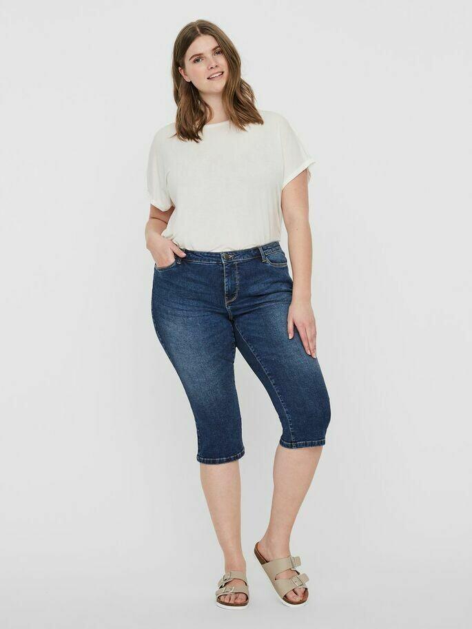 Capri jeans fra Junarose