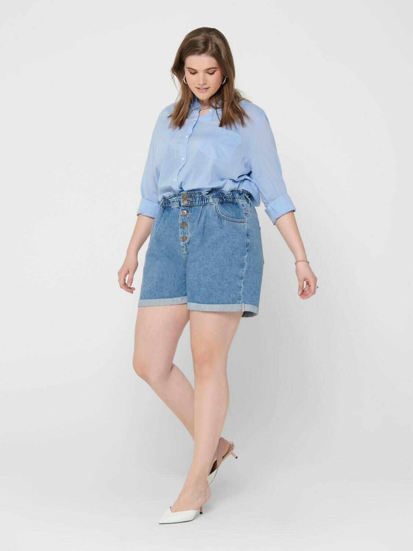 Denimblå skjorte fra Carmakoma!