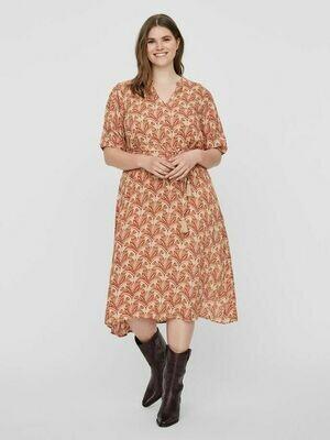 Midi-kjole i det smukkeste print fra Junarose