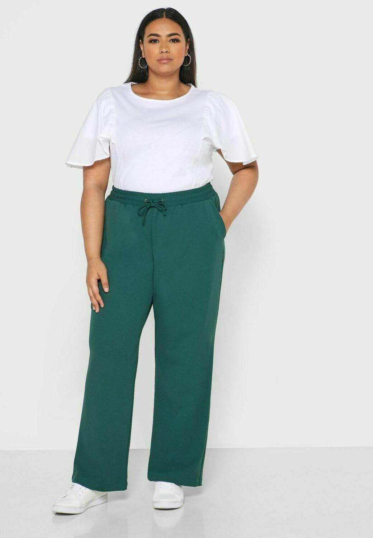 Bløde bukser med lige ben fra Junarose