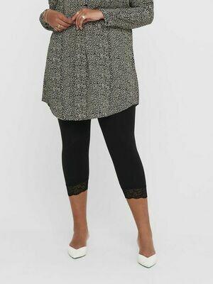 Skønne basis-leggings med blondekant fra Carmakoma.