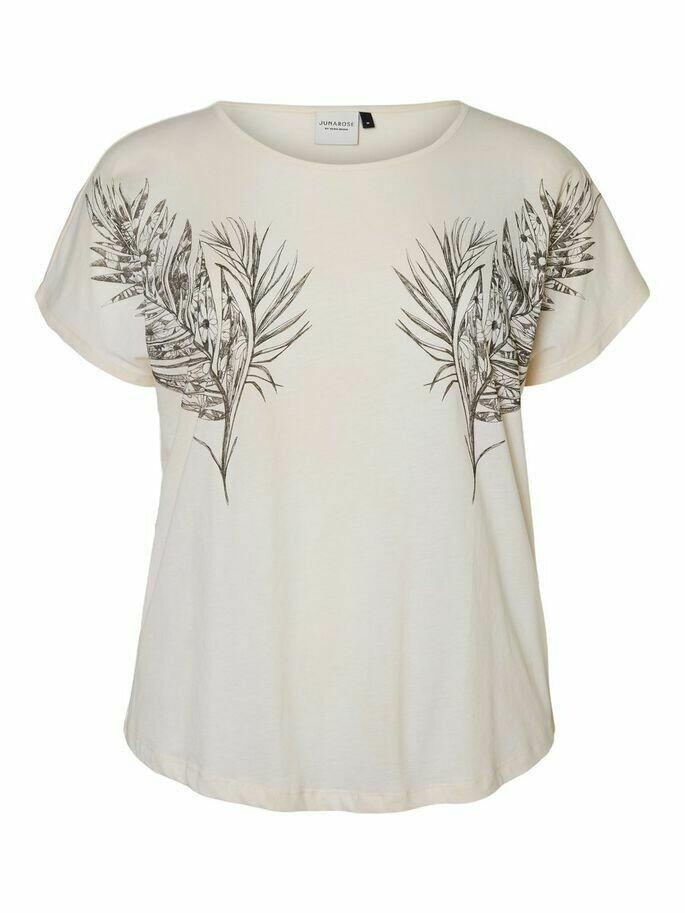 T-shirt i økologisk bomuld fra Junarose!