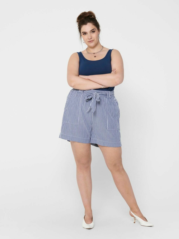 Shorts med bindebælte fra Carmakoma