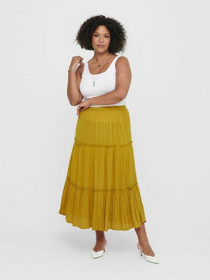 Maxi-nederdel med skæringer fra Carmakoma!