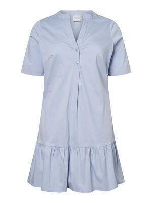 Tunika/kjole med flæsekant fra Junarose.