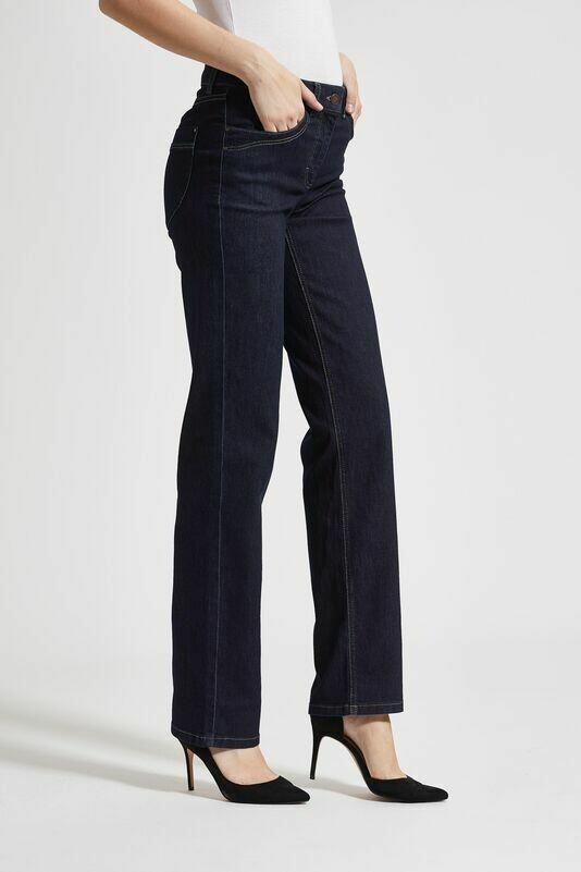 Amelia jeans med lige ben og ekstra længde fra Laurie