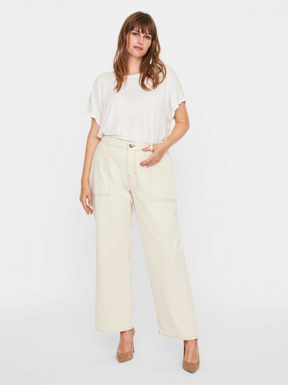 Bukser med lige ben fra Vero Moda Curve!