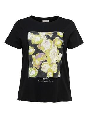 Cool print t-shirt fra Carmakoma.