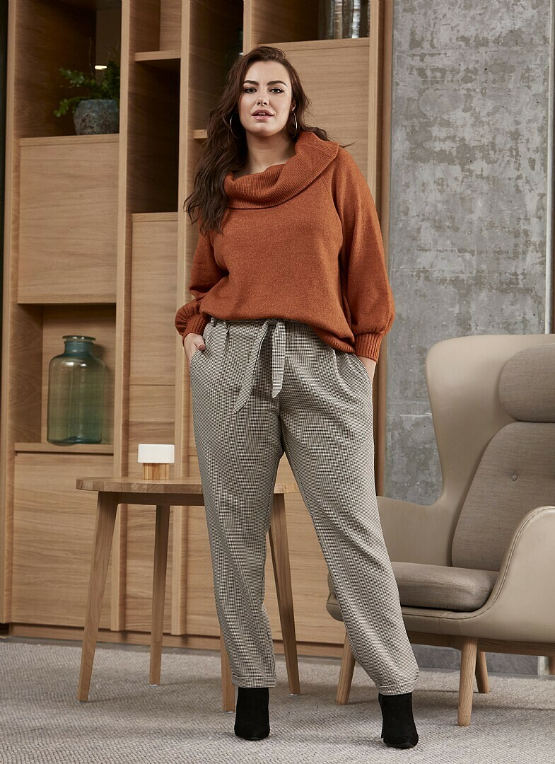 Smart strik-pullover fra Zhenzi!