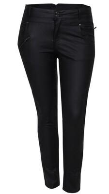 Pascha Sorte Jeans fra DNY - Coated eller Alm. Sorte