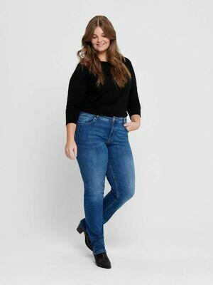 Jeans med lige ben fra Carmakoma!