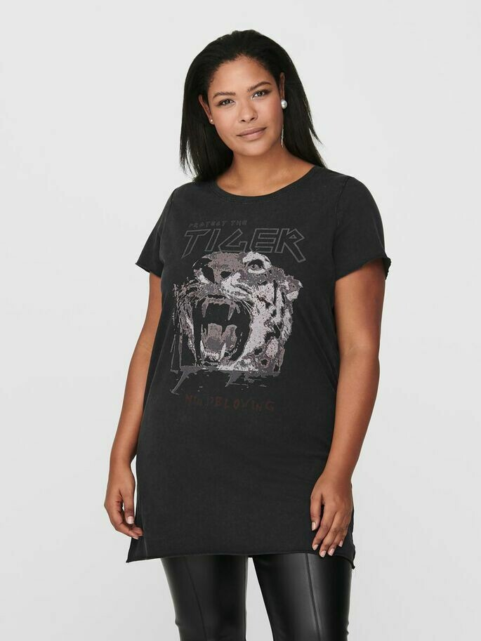 T-shirt tunic fra Carmakoma!