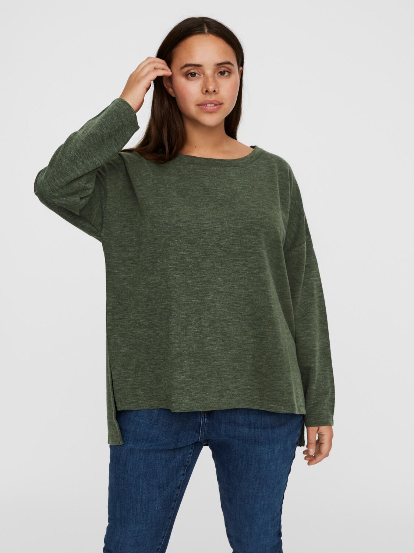 High/low pullover fra Vero Moda Curve!