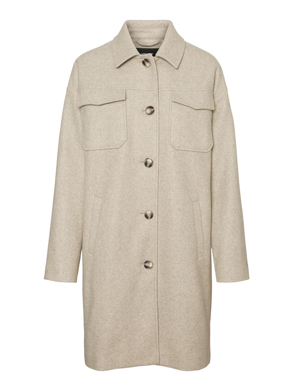 Lang jakke fra Vero Moda Curve!