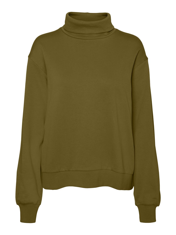Sweatshirt med rullekrave fra Vero Moda Curve!