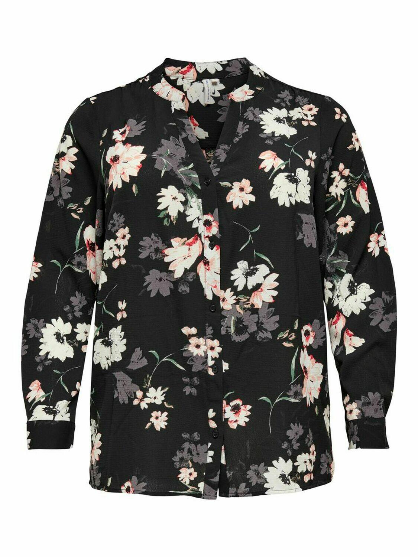 Blomstret skjorte fra Carmakoma!