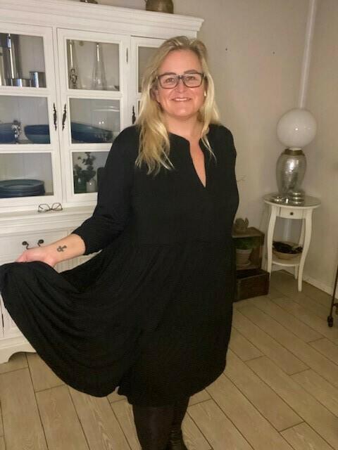 Lækker kjole i viscose-jersey fra DNY