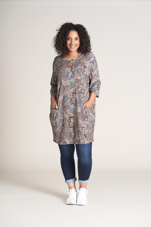 Jersey-tunika med lommer fra Studio